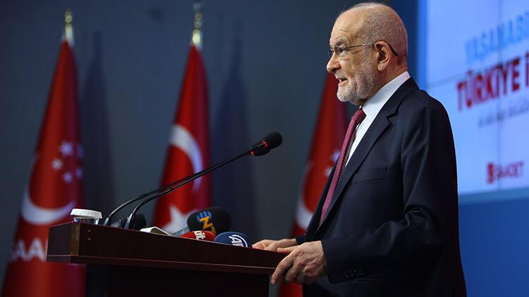 Saadet Partisi Genel Başkanı Temel Karamollaoğlu: Parti meselelerini kamuoyunda tartışmamaya kararlıyım