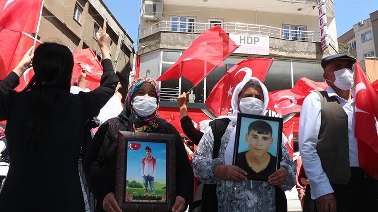 Şırnaklı ailelerin HDP önündeki eyleminde 33'üncü hafta