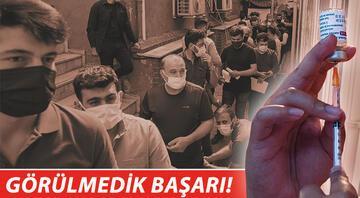 Sağlık Bakanı Fahrettin Koca açıkladı Aşılamada yeni dünya rekoru