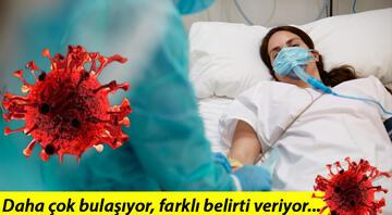 Delta varyantı Türkiyede kaç kişide görüldü Delta varyantının farkı ne İşte delta varyantı belirtileri