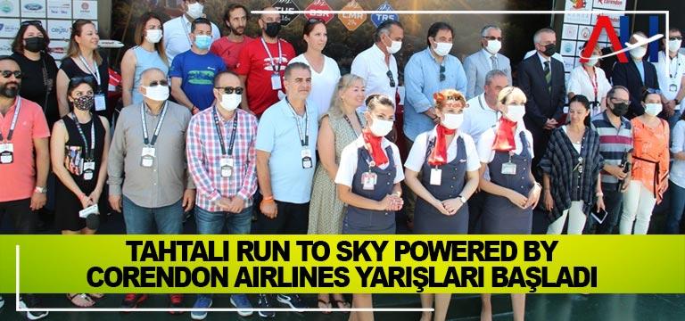 Tahtalı Run to Sky Powered by Corendon Airlines yarışları başladı