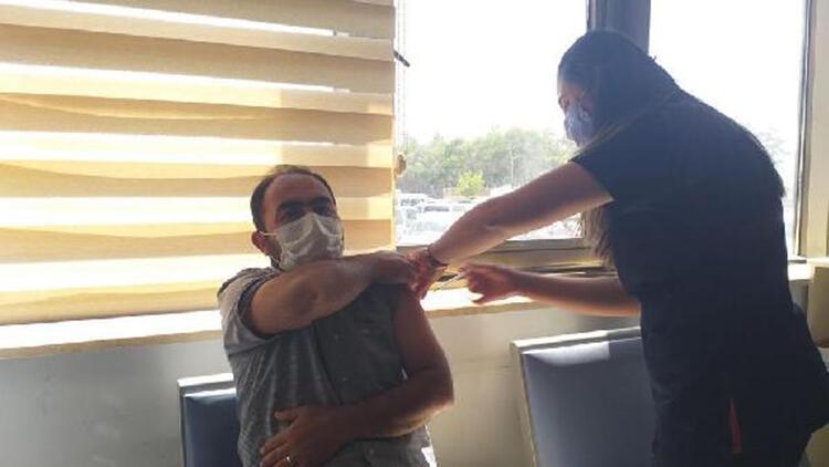 Van'da sırası gelene randevusuz aşı uygulaması başlatıldı