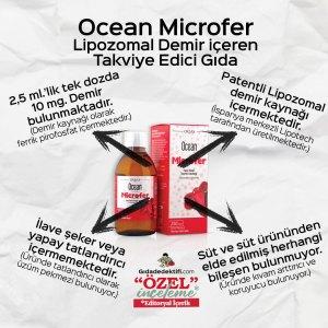Ocean Microfer Lipomozal Demir içeren Takviye Edici Gıda - Gıda Dedektifi