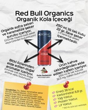 Red Bull Organik Kola - Gıda Dedektifi