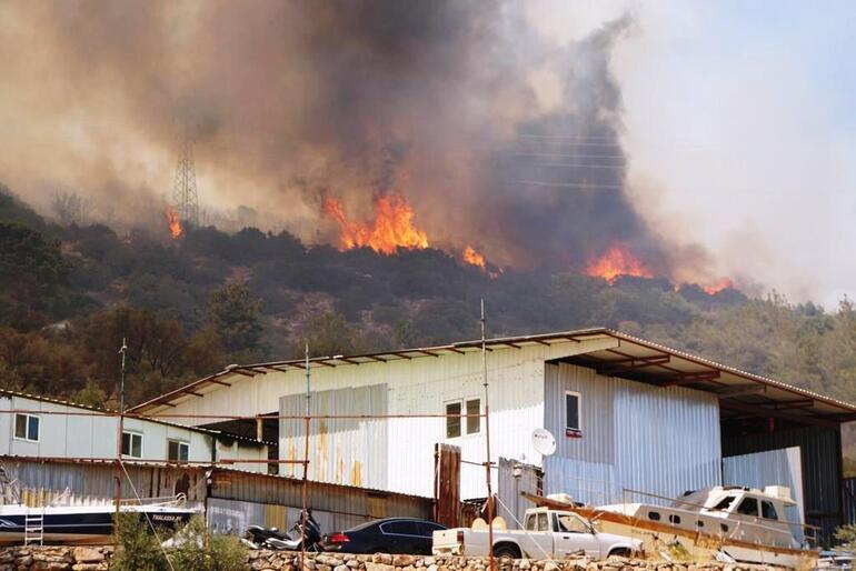 Son dakika haberi: Bodrum yangın yeri: Mazı ve Gökpınar... İki mahalle tahliye edilirken, Belediye Başkanı Arastan halka çağrı