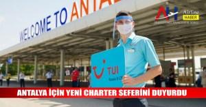Antalya için yeni charter seferini duyurdu - Airline Haber