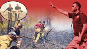 Kahramanlar Hürriyet'e anlattı: Son ateş sönene kadar...