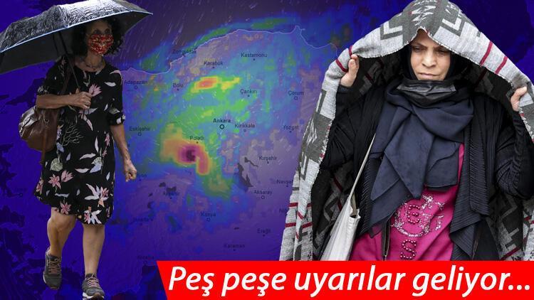 Son dakika hava durumu bilgisi... Meteoroloji bölge bölge uyardı! Çok sayıda il alarmda: Kuvvetli olacak