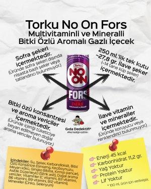 Torku No On Fors Bitki Özlü Gazlı İçecek - Gıda Dedektifi