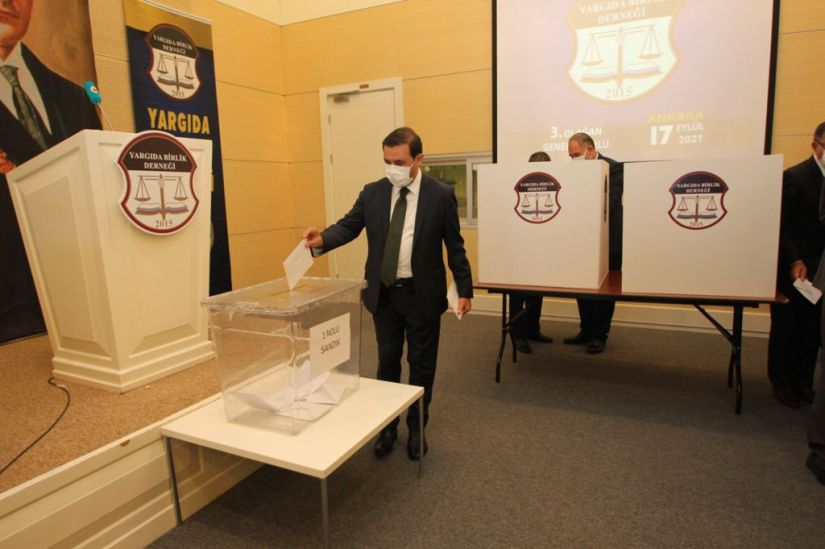 Yargıda Birlik 3'üncü Olağan Genel Kurulu yapıldı | SON TV