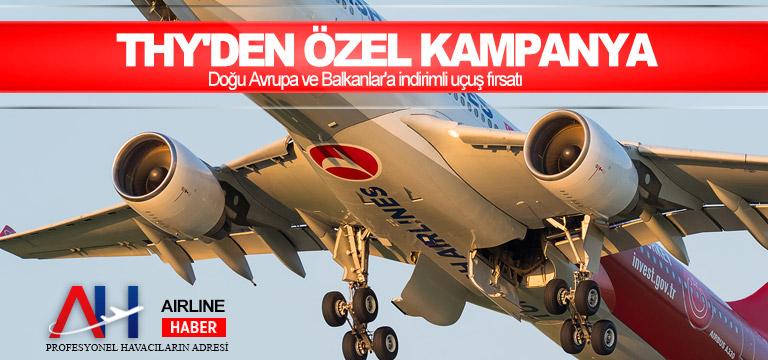THY'den özel kampanya: Doğu Avrupa ve Balkanlar'a indirimli uçuş fırsatı