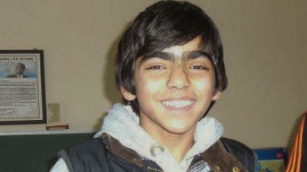 Turkish boy Berkin Elvan when he was still alive