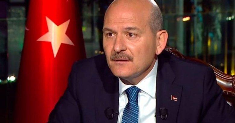 Süleyman Soylu'dan vatandaşlara uyarı
