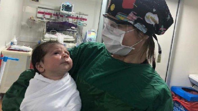 Batman'da koronavirüse yakalanan 1 aylık bebekten iyi haber