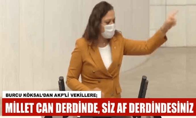 'Allah belasını versin!' sözleri AKP sıralarını karıştırdı