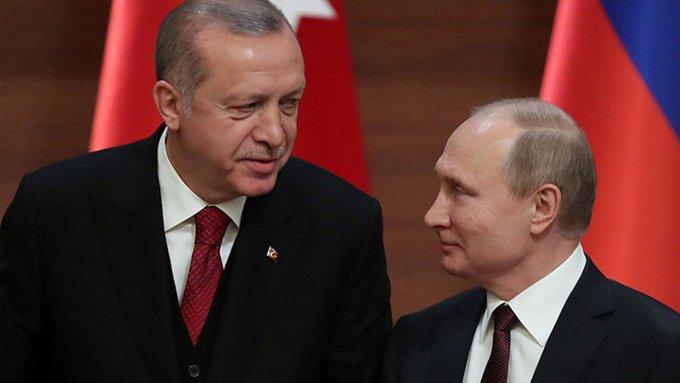 erdoğan putin