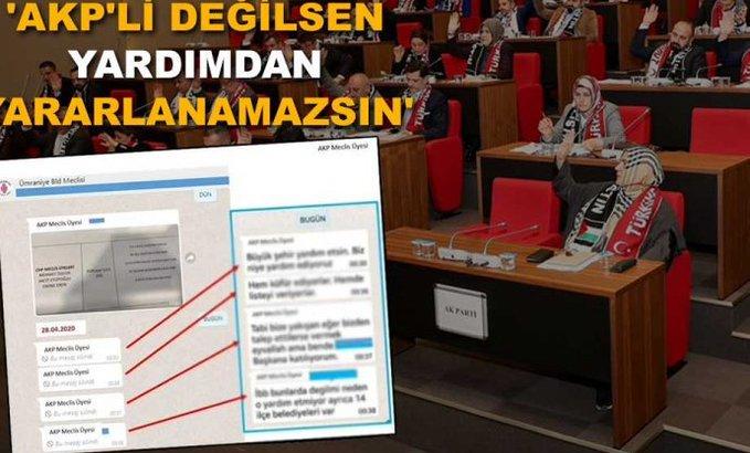 AKP'lilerin ayrımcılığı ifşa oldu, Yazışmalar ortalığa döküldü