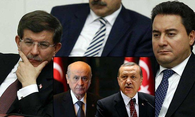 MHP: 'Davutoğlu çözüm süreci ve HDP'de ısrar ettiği için…