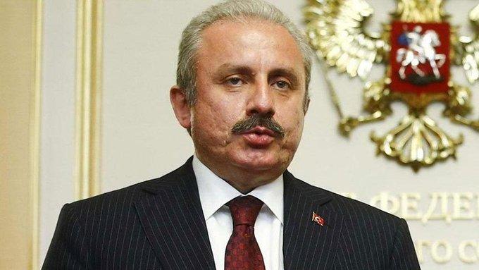 Meclis Başkanı Şentop'tan Erdoğan itirafı! Tarafsız değil