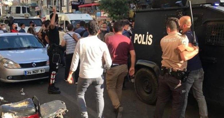 Diyarbakır'da çatışmada: 10 yaşındaki çocuk arada kaldı
