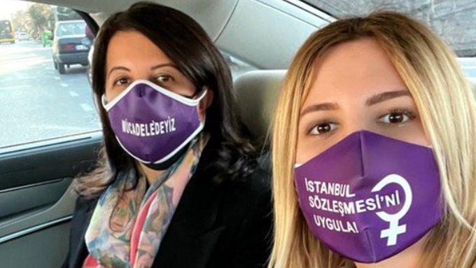 Pervin Buldan'ın kızı Zelal Buldan ifadeye çağrıldı