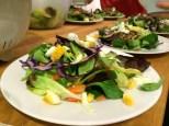 Winterlicher Nusssalat