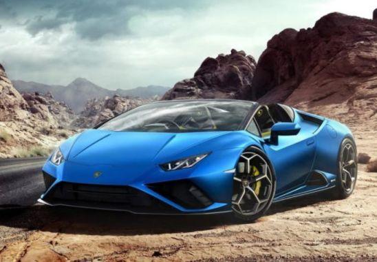 Lamborghini Huracan Evo RWD Spyder Sonunda Otomobil Severlerin Beğenisine Sunuldu