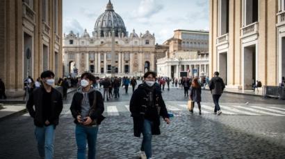 İtalya'da Son 24 Saatte Korona Virüsten 194 Ölüm