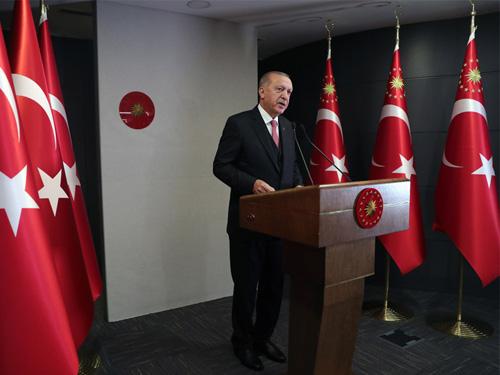 """Cumhurbaşkanı R.Tayyip Erdoğan """"Normal hayata dönüşü kademe kademe başlatacağız"""""""