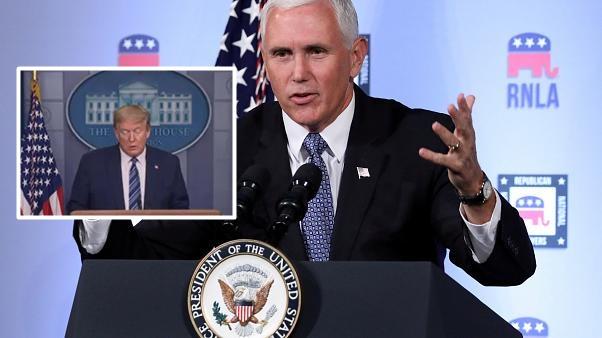 Amerikan Başkan Yardımcısı Mike Pence: 3 Kasım 2020 İçin Meydanlardayız