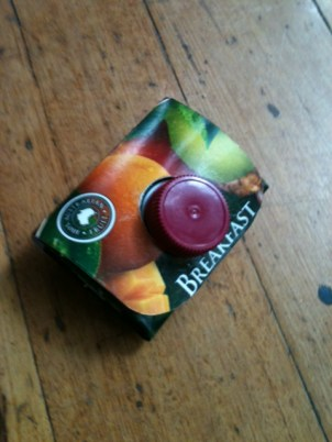 Fruit juice carton wallet