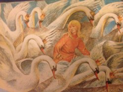 'The Wild Swans' courtesy of Storyteller published by Marshall Cavendish