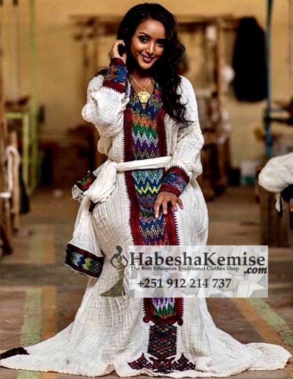 Alem Ethiopian Traditional Dress-23