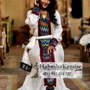 Alem Ethiopian Traditional Dress-23