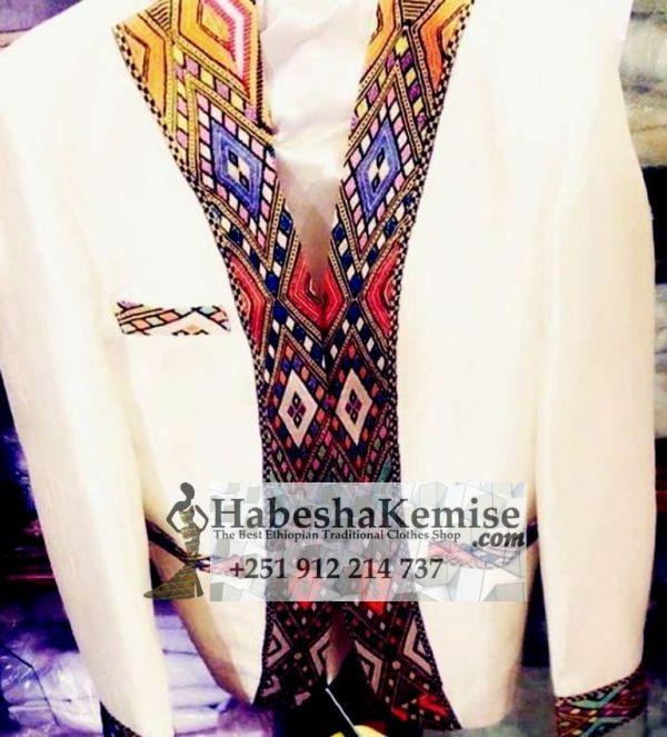 Alga Werash Ethiopian Traditional Dress Mens-11