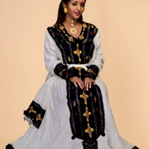 Amarech Ethiopian Traditional Dress-21