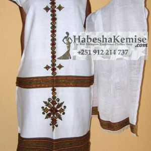 Amrobeshal Ethiopian Traditional Clothes-95