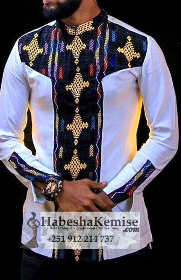 Anbessa Negn Ethiopian Traditional Dress Mens-3