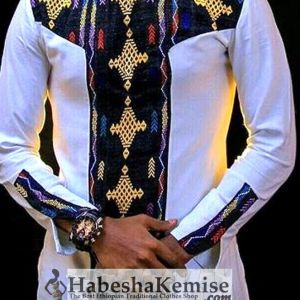 Anbessa Negn Ethiopian Traditional Dress Mens-3
