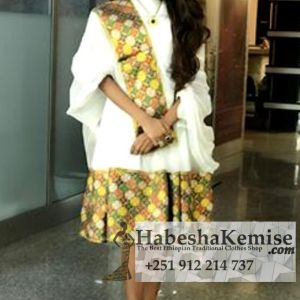 Betty Chique Ethiopian Traditional Dress-40