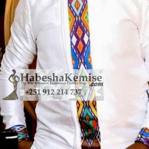 Classy Wend Ethiopian Traditional Dress Mens-18