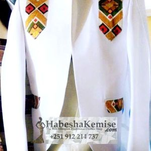 Crown Prince Ethiopian Traditional Dress Mens-5