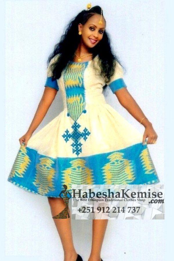 Destegna Life Ethiopian Traditional Dress-36