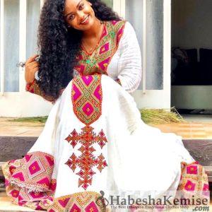Elsas Surprise Ethiopian Traditional Clothes-52