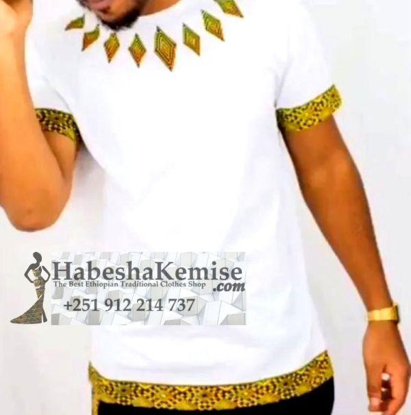 Emperor Line Ethiopian Traditional Dress Mens-1