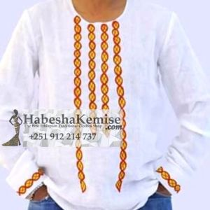 Ethio Casual Ethiopian Traditional Dress Mens-10