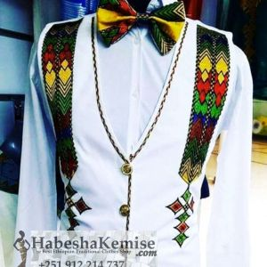 Ethio Dignified Ethiopian Traditional Dress Mens-9
