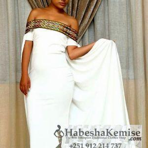 Exquisite Tewabech Ethiopian Traditional Clothes-93
