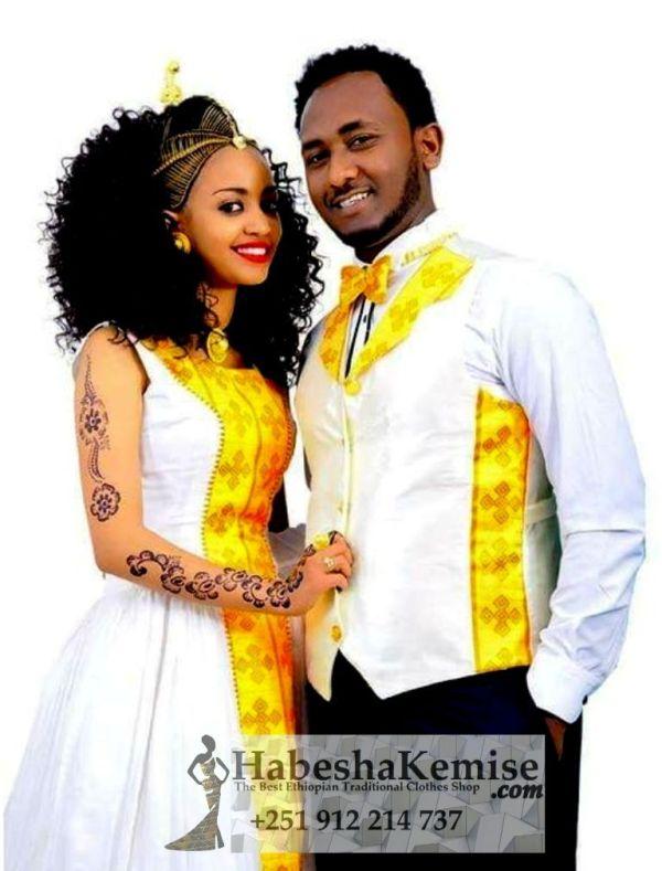 Fevens Heaven Traditional Ethiopian Wedding Clothes-62