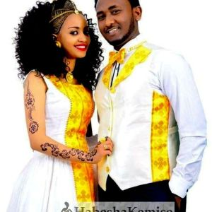 Fevens Heaven Traditional Ethiopian Wedding Clothes-62